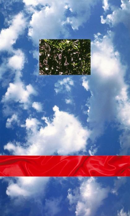 El cielo que habla. 90x60 cm.