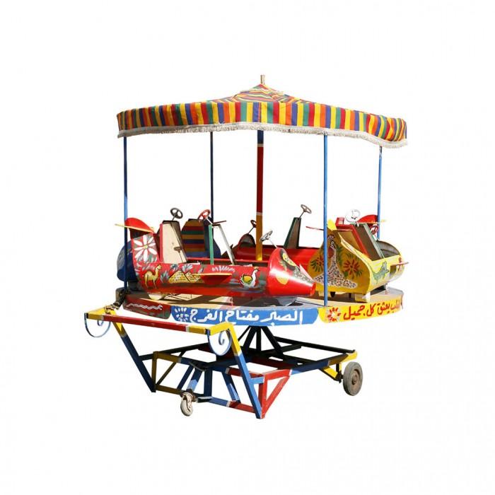 Carrousel. 110x110 cm.