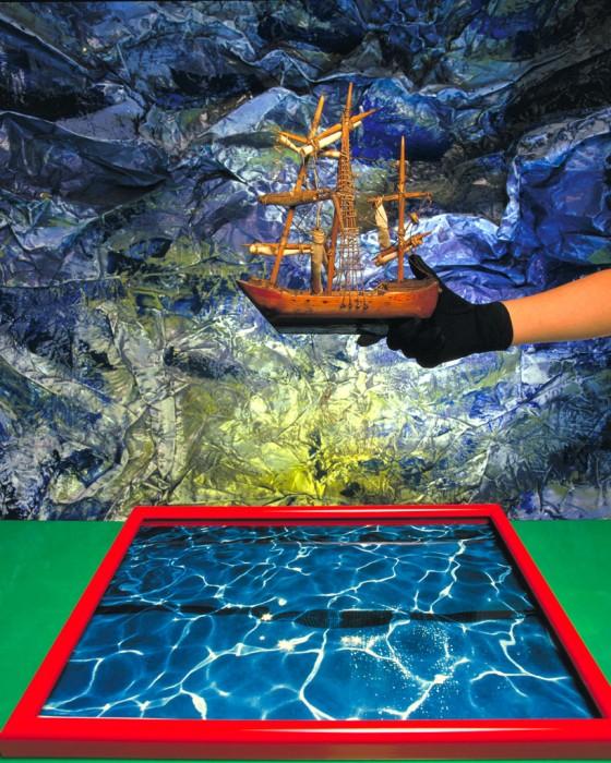 En aguas tranquilas se navega mejor. 80x60 cm.